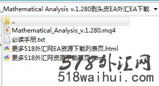 3天4.62万倍Mathematical Analysis v.1.280剥头皮EA下载!